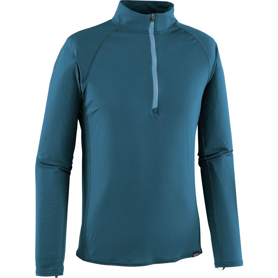 c2bdb061ba00 Patagonia - Capilene Lightweight Zip-Neck Top - Men s - Big Sur Blue