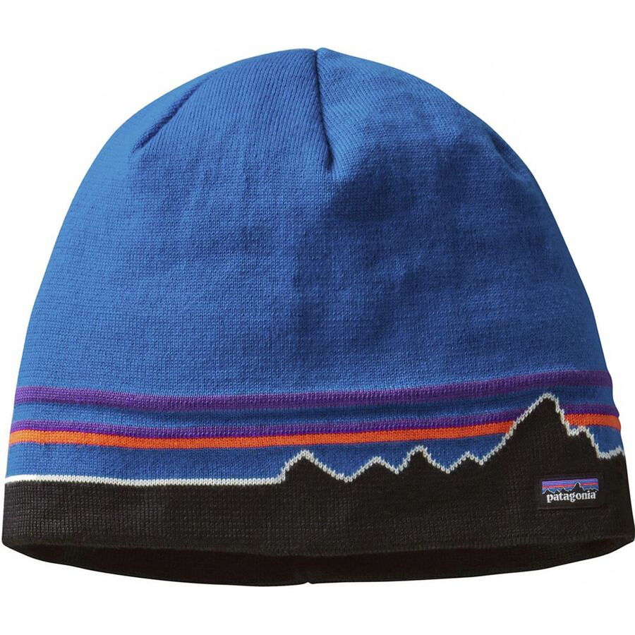 5a3a5092ca2 Patagonia - Beanie Hat - Classic Fitz Roy Andes Blue. 1