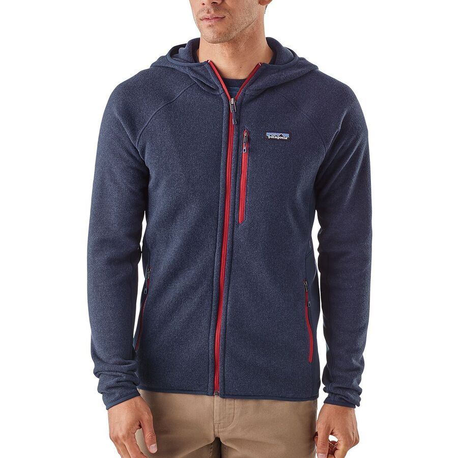 Patagonia Performance Better Sweater Hooded Fleece Jacket Mens