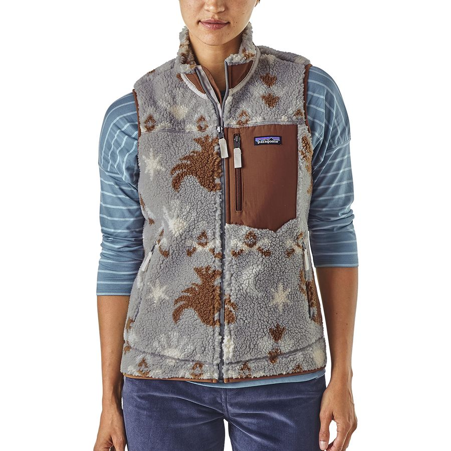 Patagonia - Classic Retro-X Fleece Vest - Women's - Midnight Flight/Drifter Grey