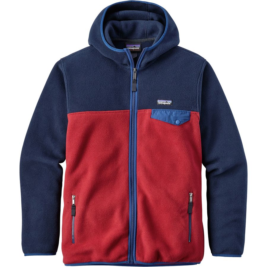 Patagonia Lightweight Synchilla Snap-T Hooded Fleece Jacket ...