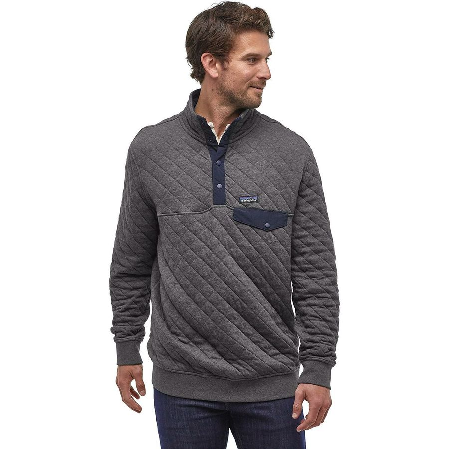 Patagonia Cotton Quilt Snap-T Fleece Pullover - Men's ...