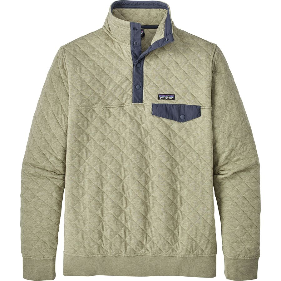 Patagonia Organic Cotton Quilt Snap T Fleece Pullover
