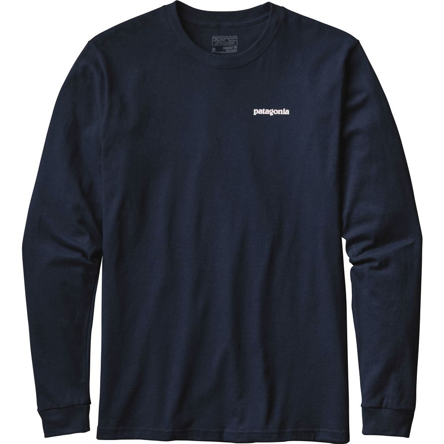 Patagonia P-6 Logo Long-Sleeve T-Shirt - Men's | Backcountry.com