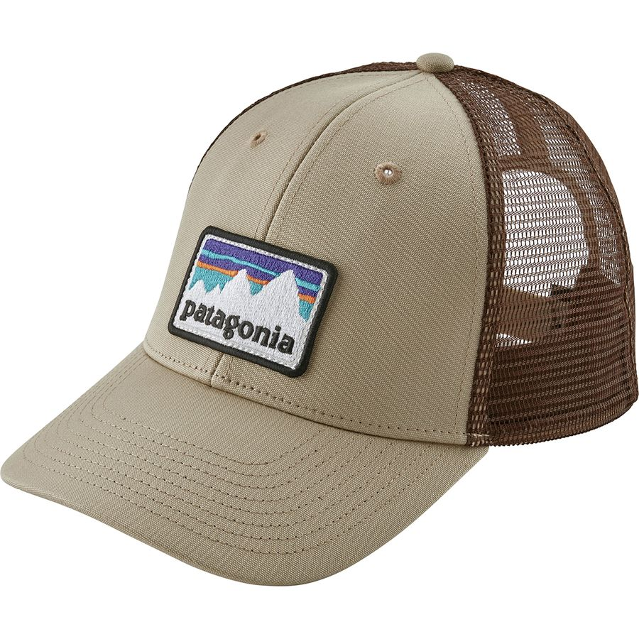 173949b88 Patagonia Shop Sticker Patch LoPro Trucker Hat