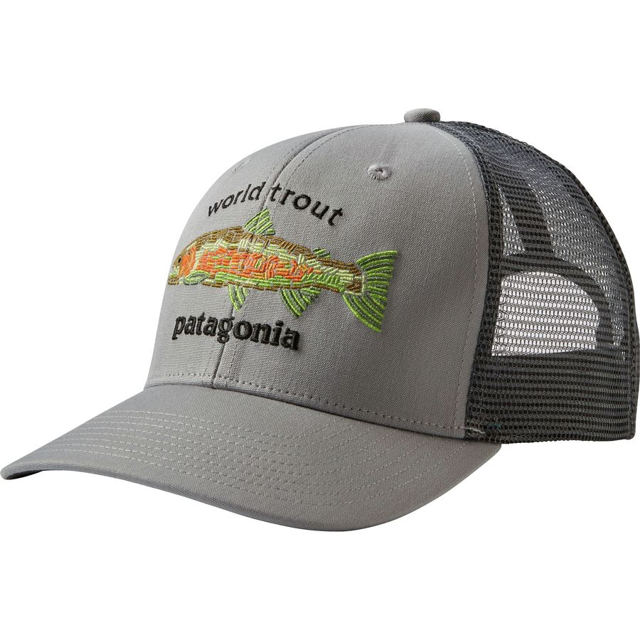 Patagonia - World Trout Fishstitch Trucker Hat - Men s - 8a8ff262fba4