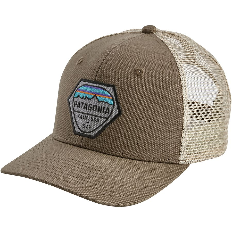 1b4830a313f3c8 Patagonia Fitz Roy Hex Trucker Hat | Backcountry.com
