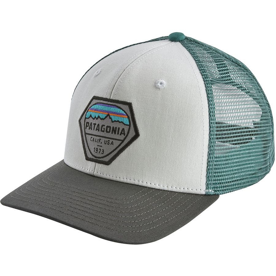 Patagonia Fitz Roy Hex Trucker Hat  359331e8d01e