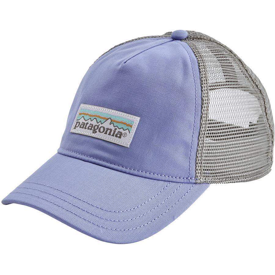 a3d115a9a7995 Patagonia - Pastel P-6 Label Layback Trucker Hat - Women s - Light Violet  Blue