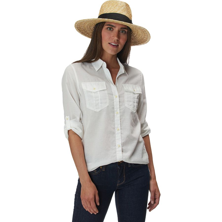 Patagonia - A/C Buttondown Lightweight Shirt - Women's - White