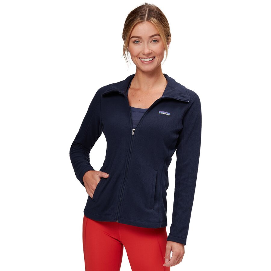 Patagonia - Micro D Fleece Jacket - Women s - Navy Blue 61a0b2e175