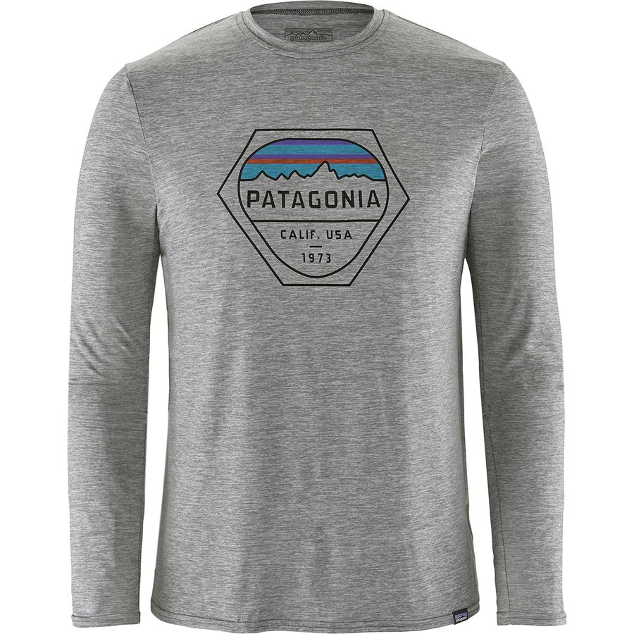 76970bbd9cea Patagonia - Capilene Daily Long-Sleeve Graphic T-Shirt - Men's - Fitz Roy