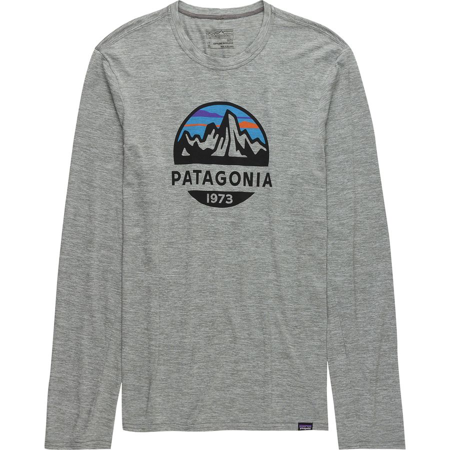 Patagonia Capilene Daily Long-Sleeve Graphic T-Shirt - Mens