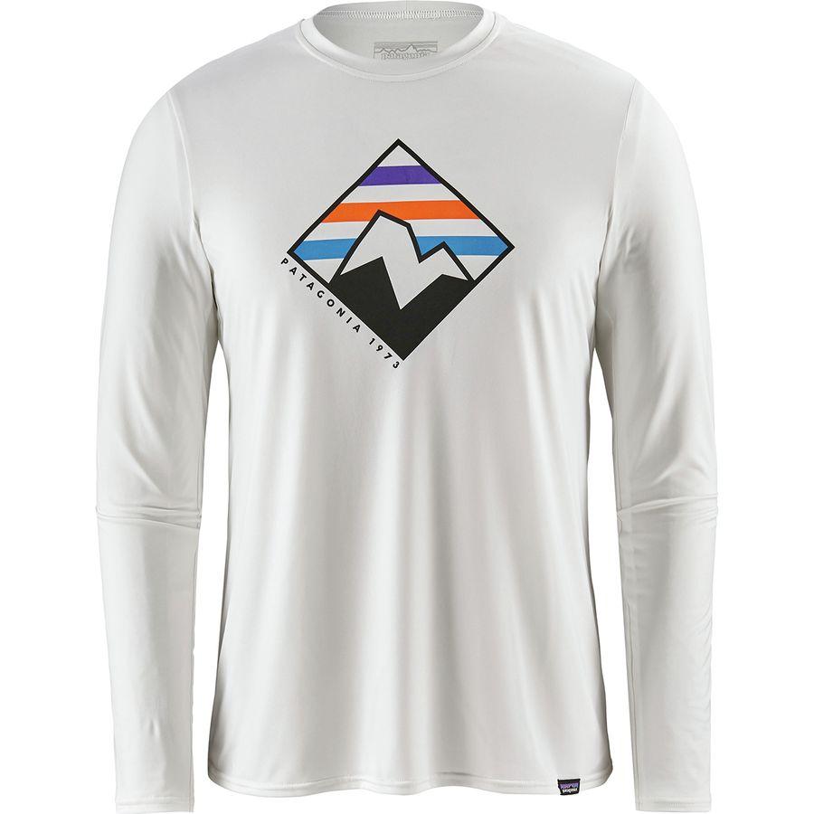 Patagonia - Capilene Daily Long-Sleeve Graphic T-Shirt - Men s - Peak Peek e5c0c51f24d