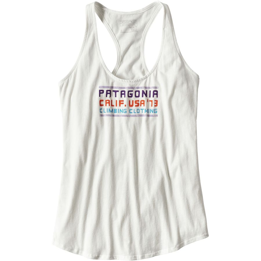 Patagonia Mt. Minded Ropes Cotton Tank Top - Womens