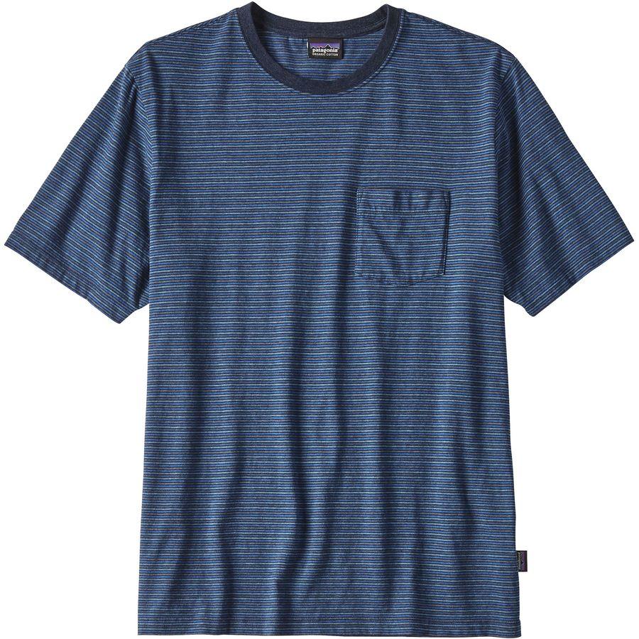 Patagonia Squeaky Clean Pocket T-Shirt - Mens