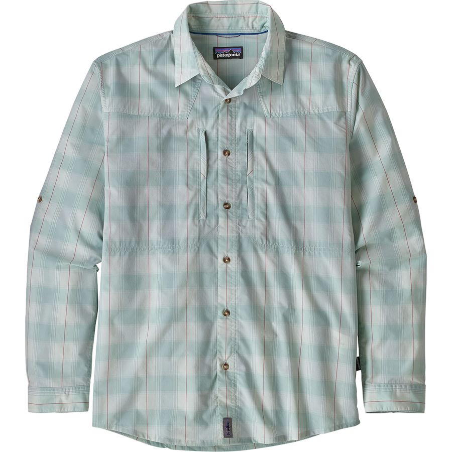 ea8c544b1b8 Patagonia - Sun Stretch Long-Sleeve Shirt - Men s - Haven Atoll Blue
