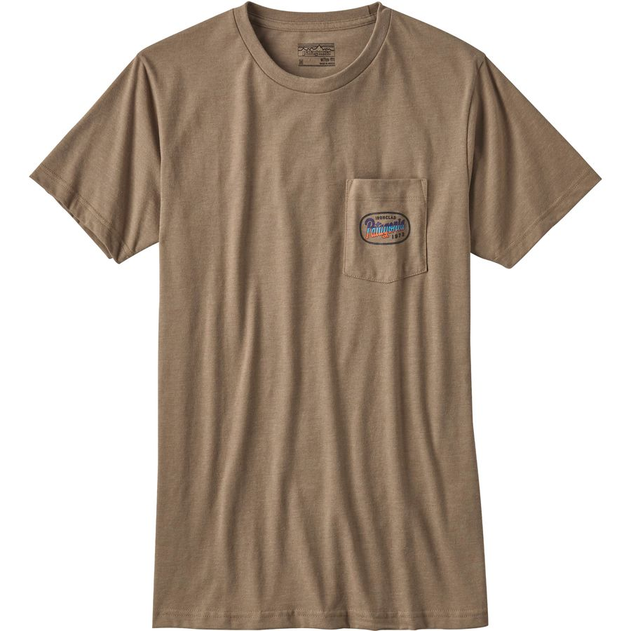 Patagonia Longhaulers Pocket T-Shirt - Mens