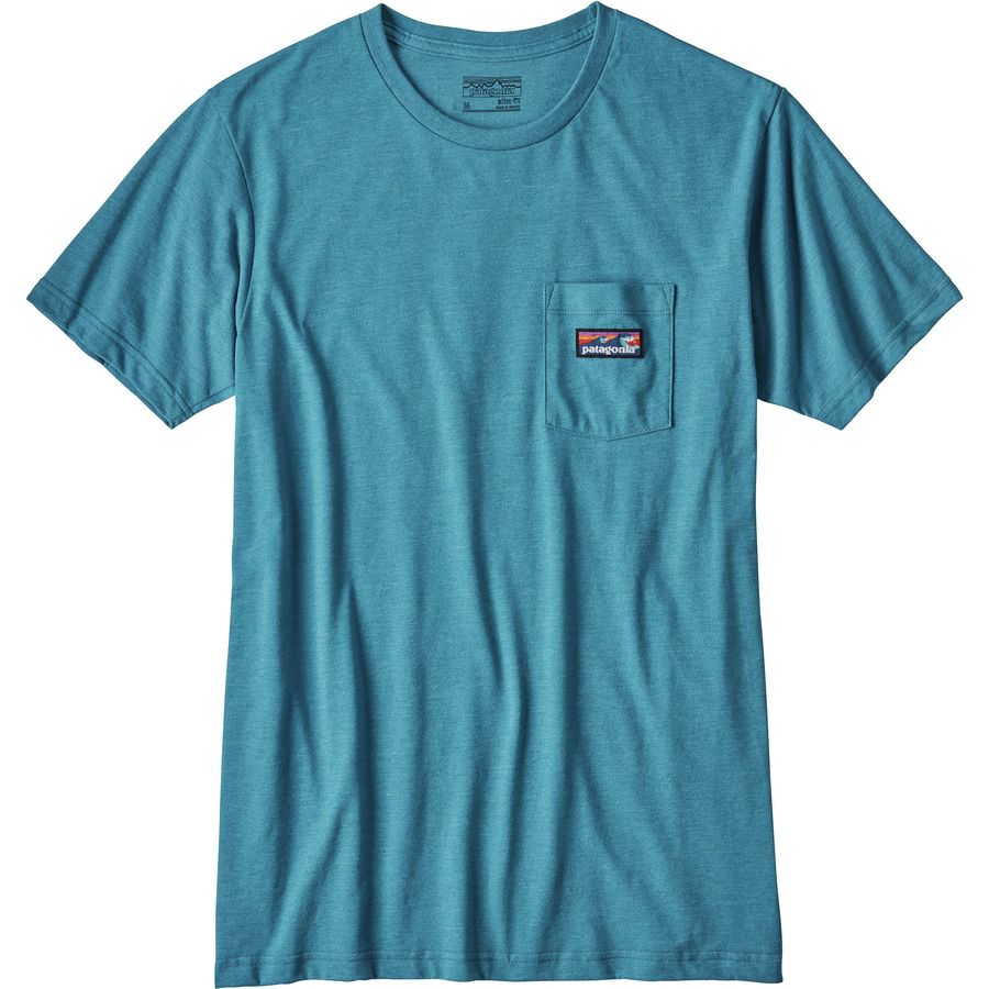 Patagonia Board Short Label Pocket T-Shirt - Mens