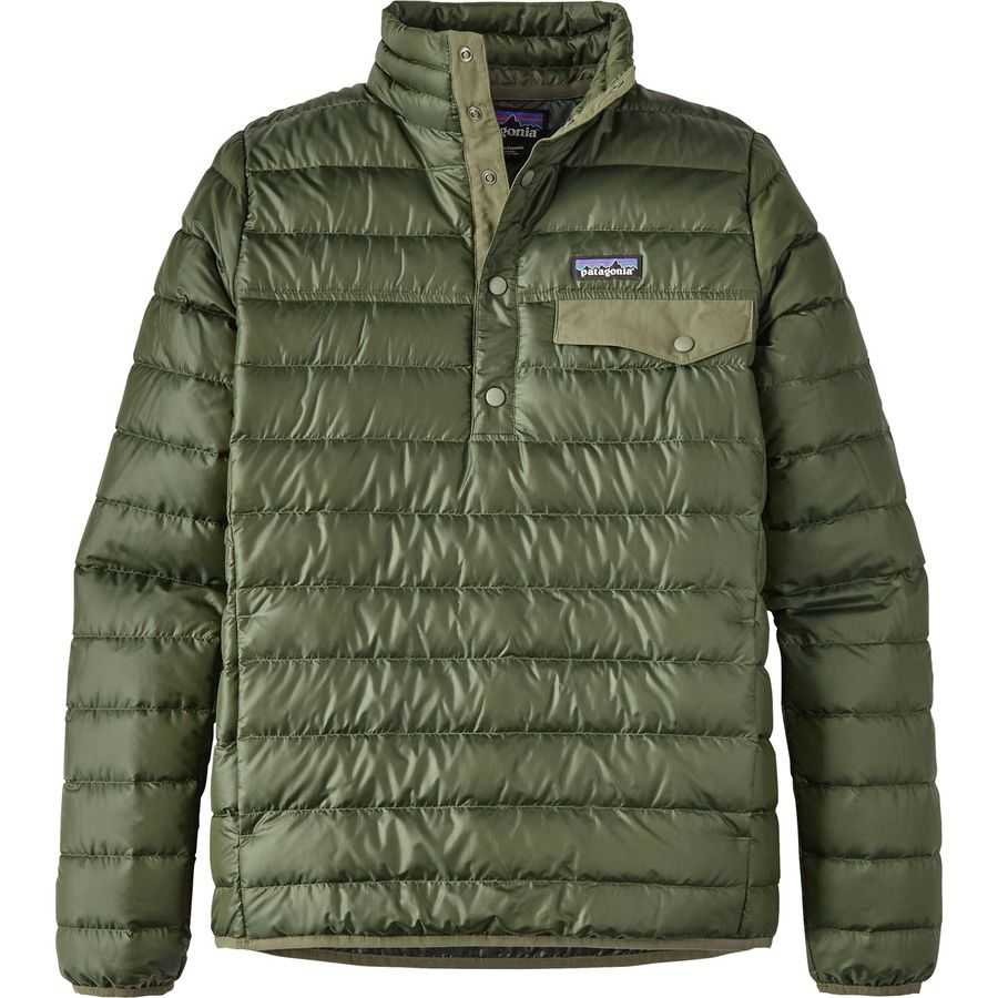 Patagonia Down Snap-T Pullover Jacket - Women's | Backcountry.com
