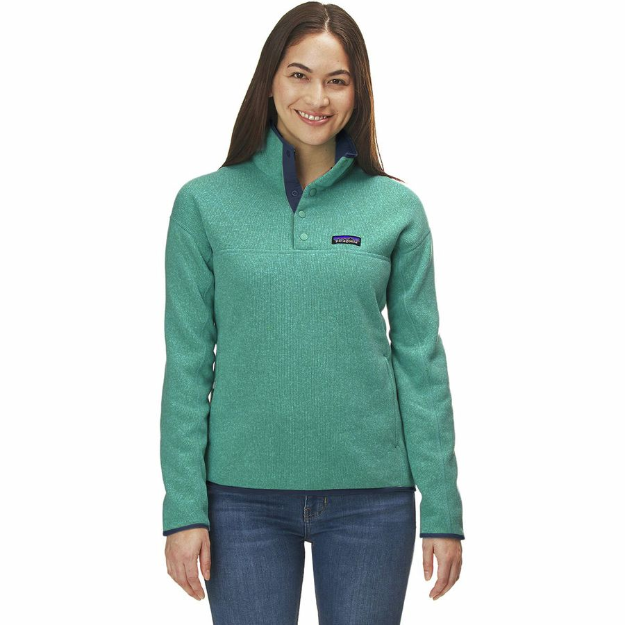 Patagonia Lightweight Better Sweater Marsupial Pullover Jacket - Womens