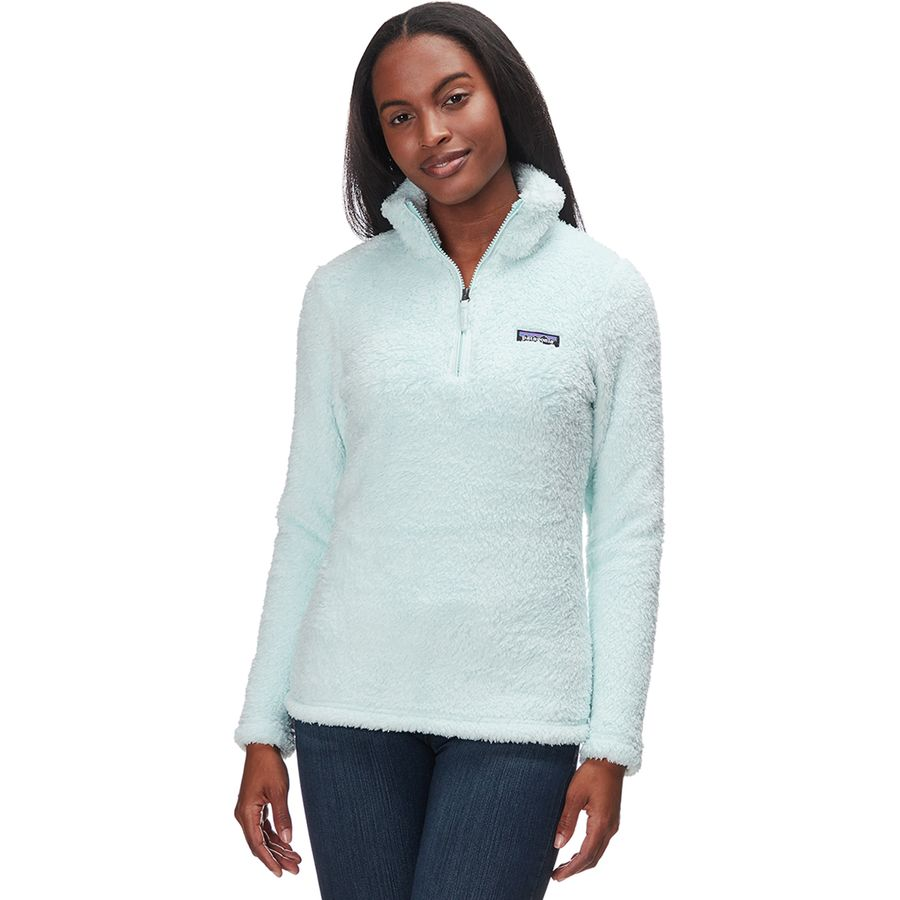 7bfb43c894933 Patagonia - Los Gatos 1 4-Zip Fleece Pullover - Women s - Atoll Blue