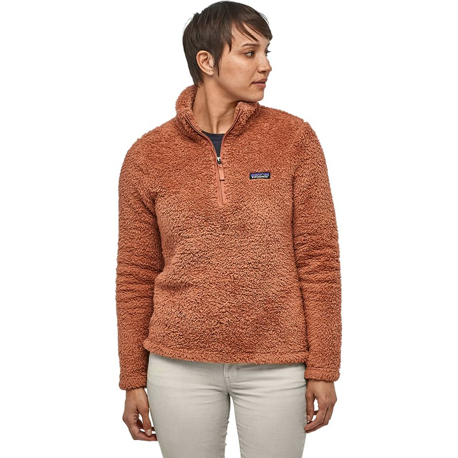 Patagonia Los Gatos Quarter Zip Fleece Pullover Women/'s