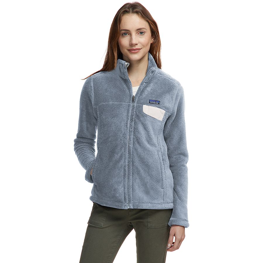 7ce2e15d84dd Patagonia - Re-Tool Full-Zip Fleece Jacket - Women s - Tailored Grey