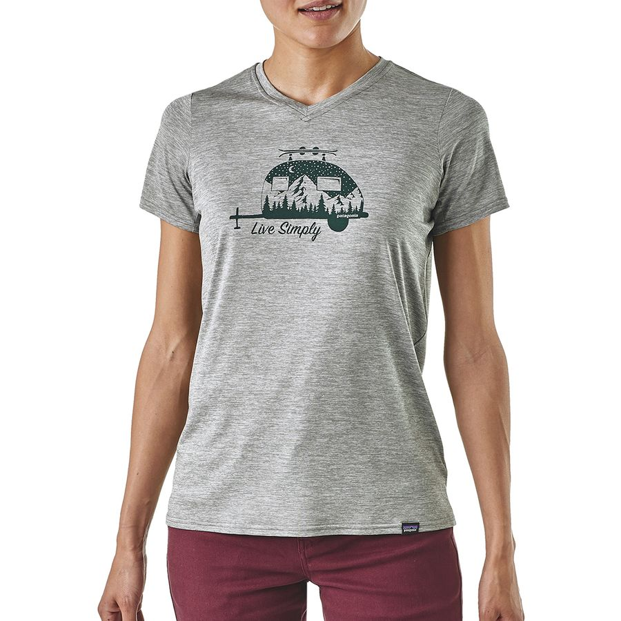 8939b7a91 Patagonia - Capilene Daily Graphic T-Shirt - Women's - Live Simply  Trailer/Feather