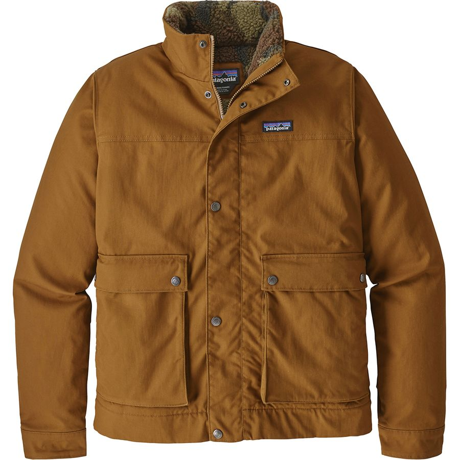 Patagonia Maple Grove Canvas Jacket Mens Jaket Parka Blazer Baby Cotton Bence Brown