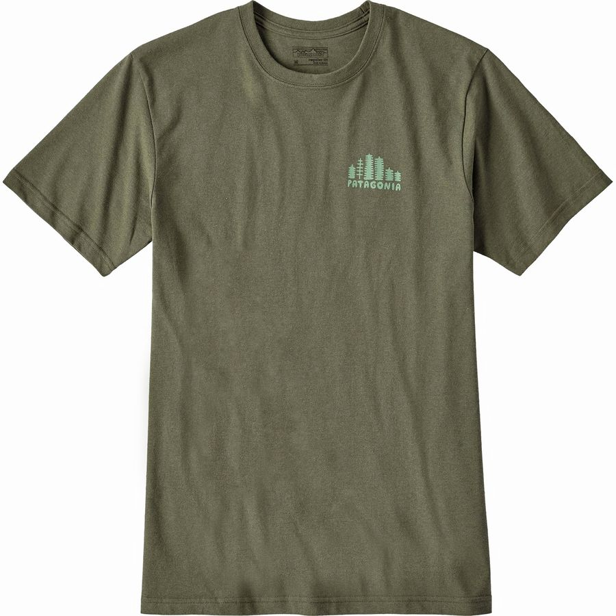 Patagonia Rainforest Fed Cotton/Poly Responsibili-tee T-Shirt - Mens