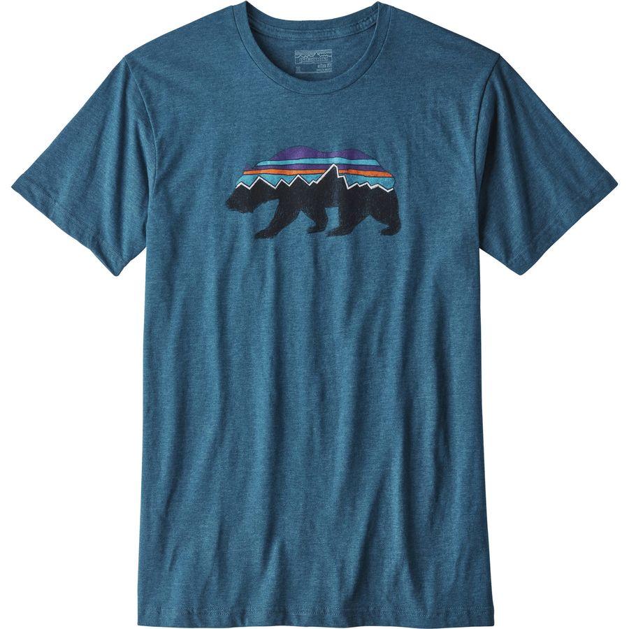 Patagonia Fitz Roy Bear T-Shirt - Mens