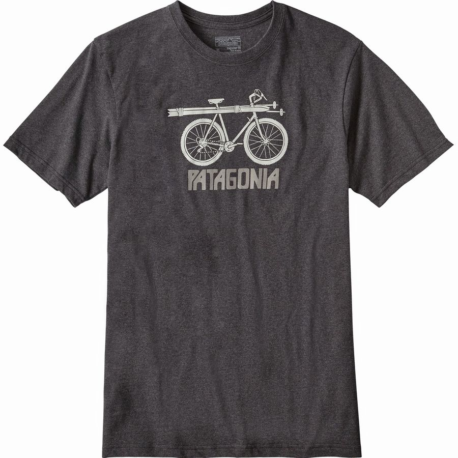 Patagonia Snow Cycle Responsibili-tee Short-Sleeve T-Shirt - Mens