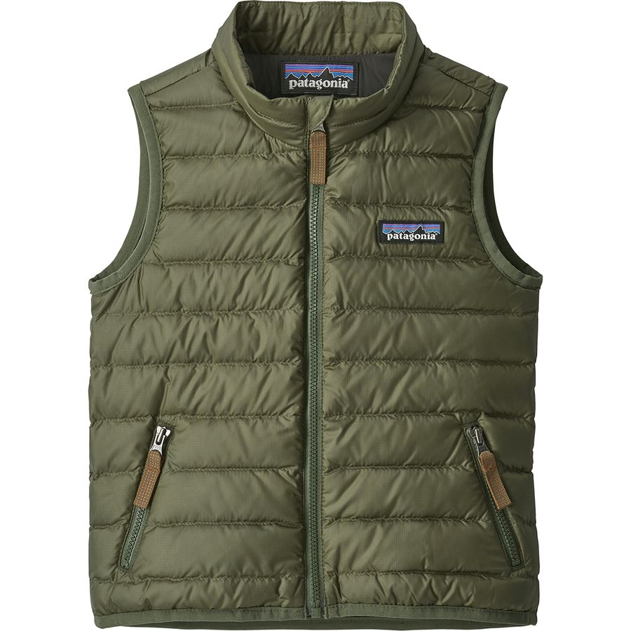 7e04a94af Patagonia - Down Sweater Vest - Toddler Boys' - Industrial Green
