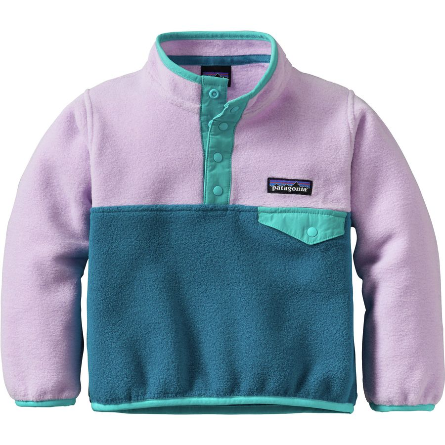Patagonia Lightweight Synchilla Snap-T Fleece Pullover - Infant ...