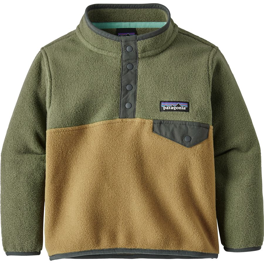bffea2b217e Patagonia - Lightweight Synchilla Snap-T Fleece Pullover - Infant Boys  -  Coriander Brown