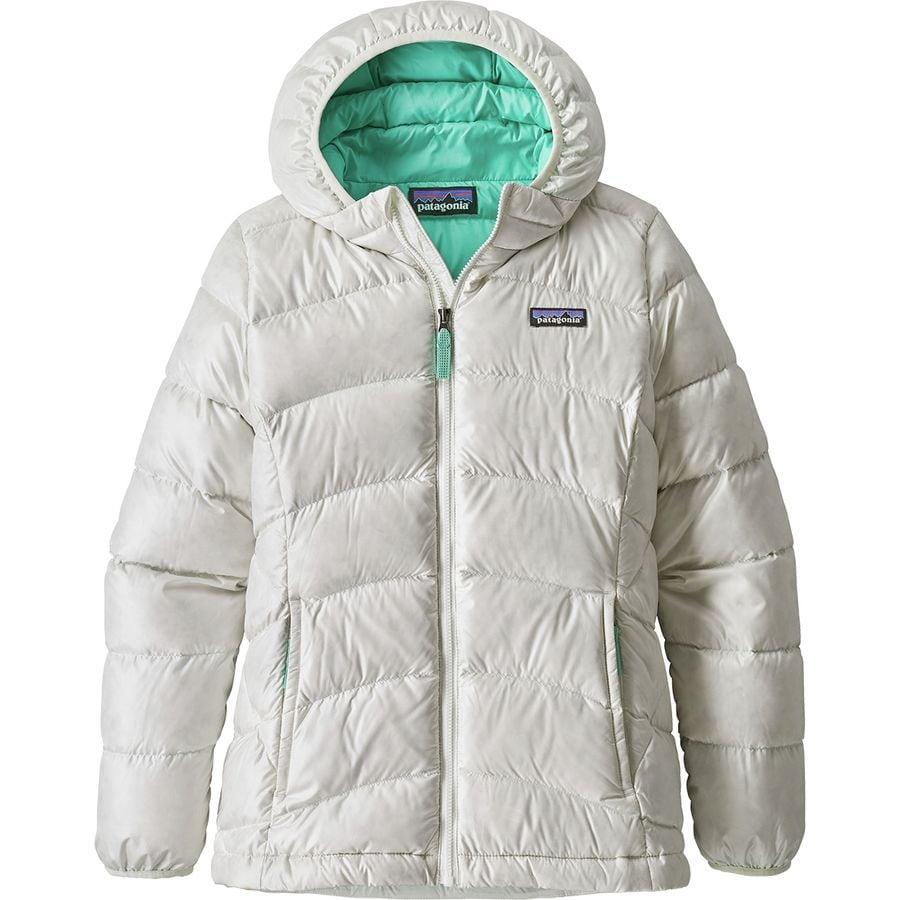 Girl hooded jacket