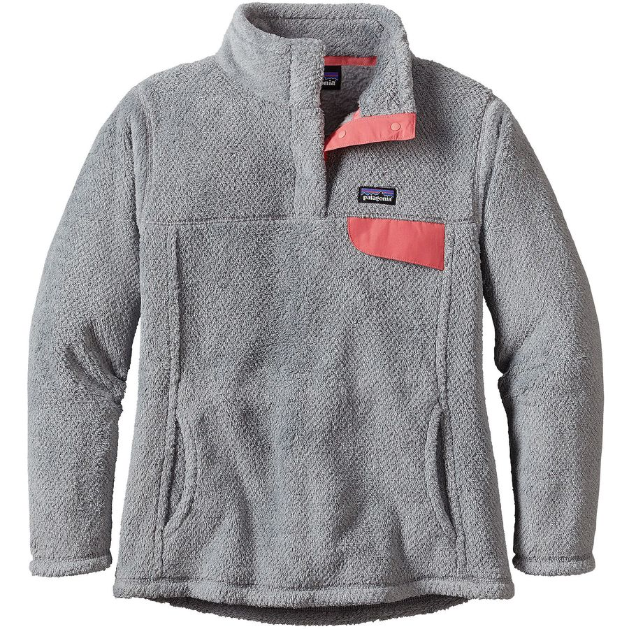 Patagonia Re-Tool Snap-T Pullover Fleece - Girls' | Backcountry.com