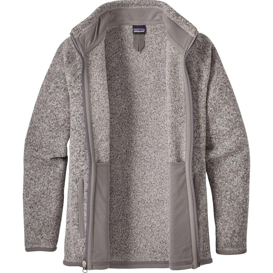 5cdb24347d6 Patagonia Better Sweater Jacket - Girls