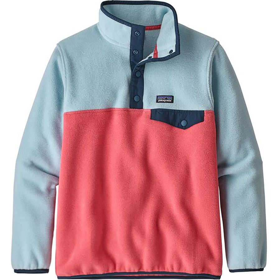 c20ada251 Patagonia Lightweight Synchilla Snap-T Pullover Fleece Jacket - Girls'