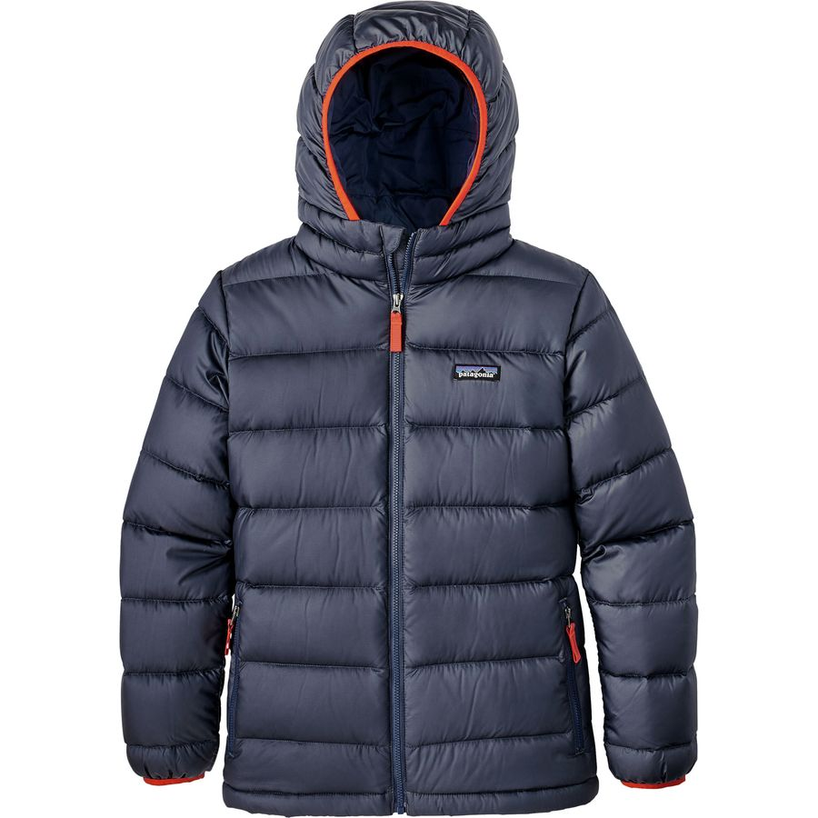 Patagonia Hi Loft Down Sweater Hooded Jacket Boys
