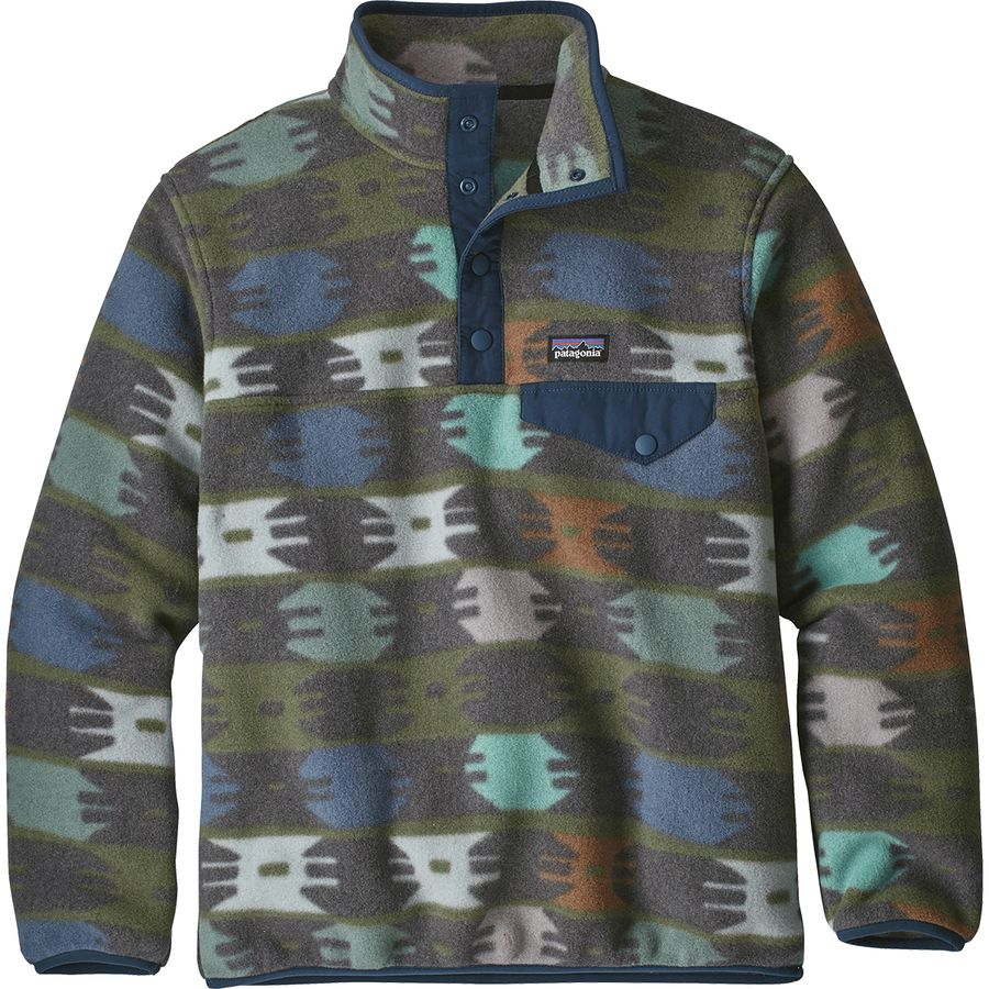 e2b7326bf95 Patagonia - Lightweight Synchilla Snap-T Fleece Pullover - Boys  - null