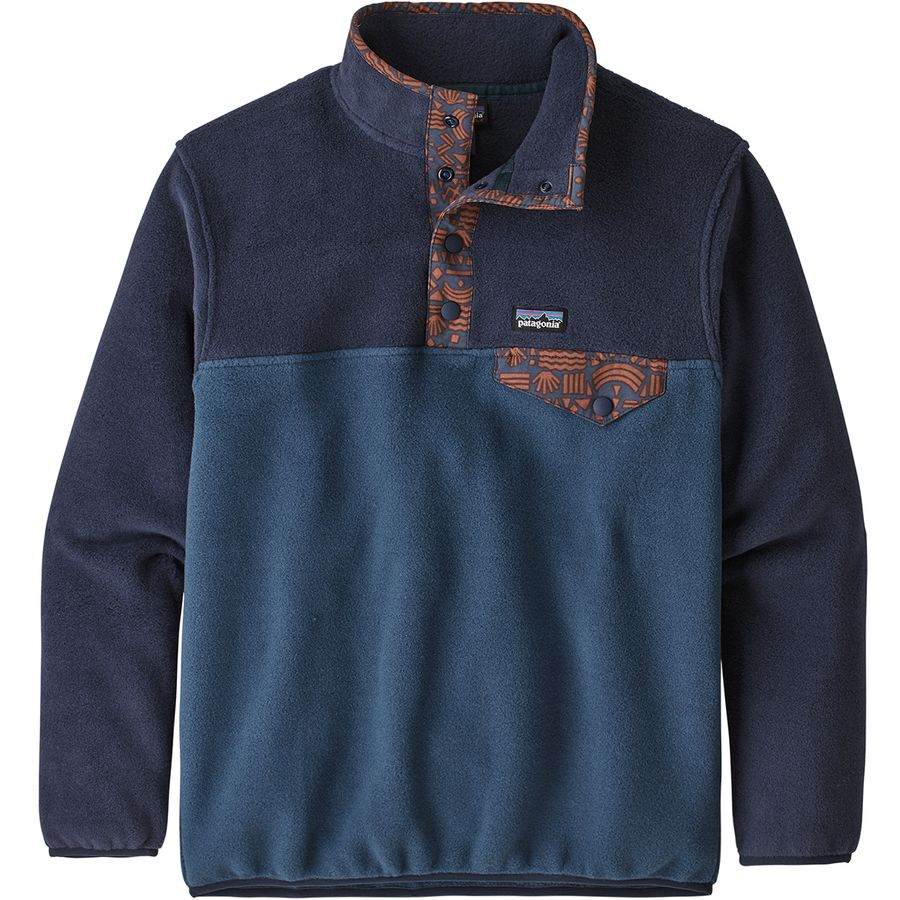 Patagonia Lightweight Synchilla Snap T Fleece Pullover Boys'