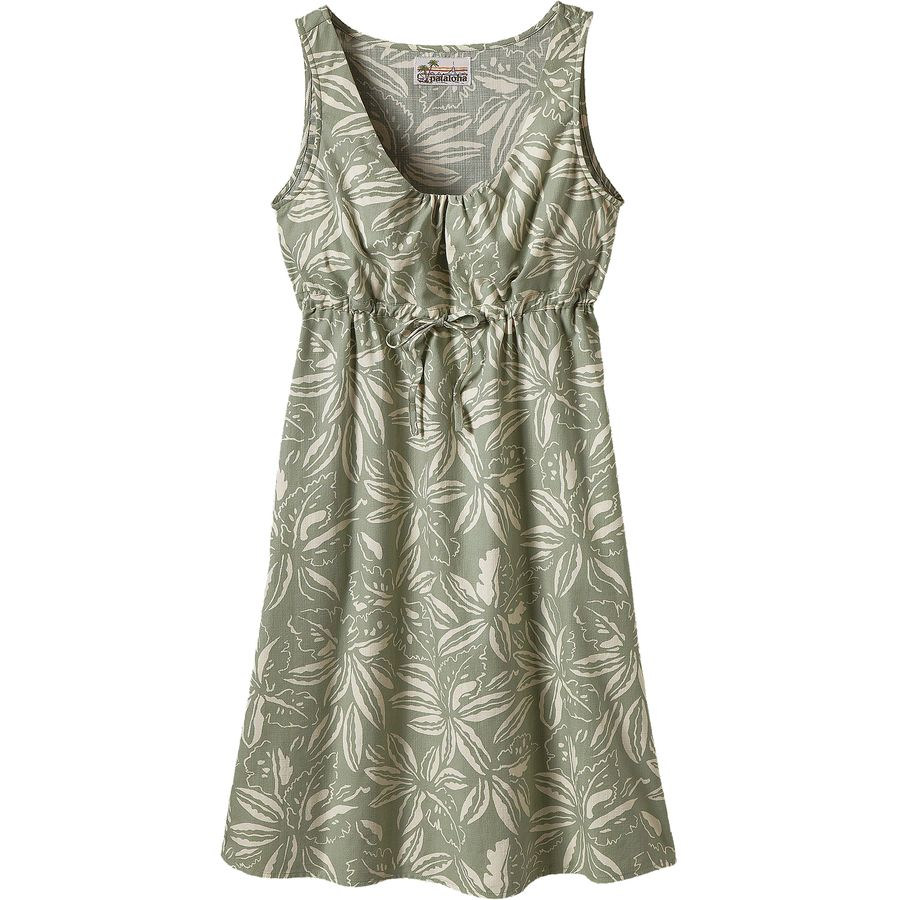 cbbe44f36 Patagonia - Limited Edition Pataloha Dress - Women s - Tropical Distilled  Green