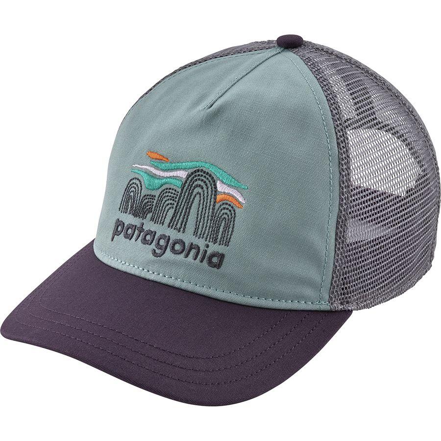 47d5a095cff Patagonia - Fitz Roy Boulders Layback Trucker Hat - Women s - Cadet Blue