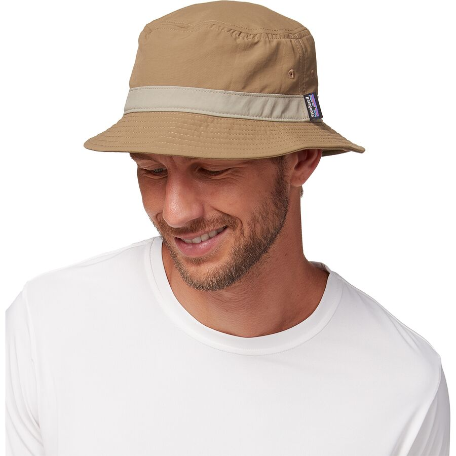 Patagonia - Wavefarer Bucket Hat - Men s - Ash Tan 42077e004ac
