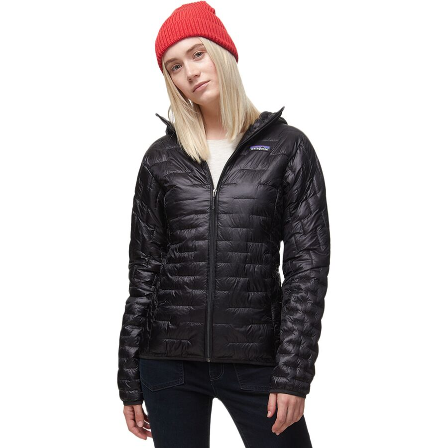 2c8fee63d5c78 Patagonia - Micro Puff Hooded Insulated Jacket - Women s - Black