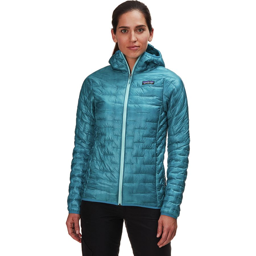 80a58372aa19d Patagonia Micro Puff Hooded Insulated Jacket - Women s