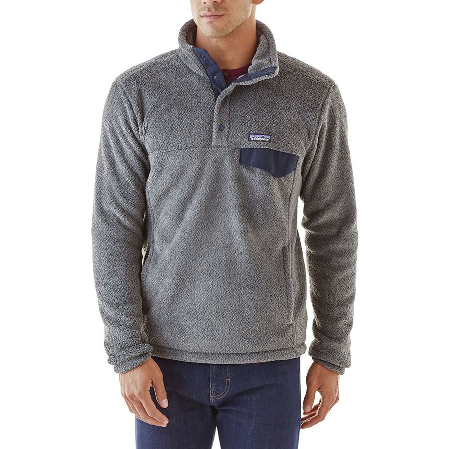 090d9bd595959c Patagonia - Re-Tool Snap-T Fleece Pullover - Men s - Feather Grey