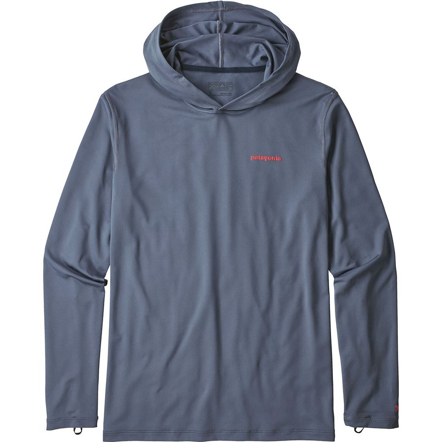 Patagonia R0 Sun Long Sleeve Hooded Shirt Men S